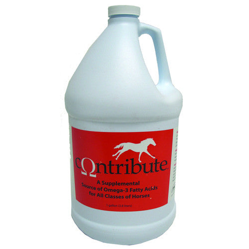 Contribute Omega-3 Supplement for Horses - Gallon - Countryside Pet Supply - 1