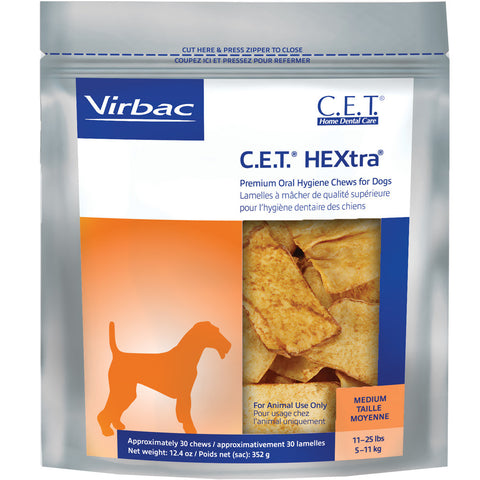 C.E.T. Chews Hextra - FOUR SIZES STARTING AT - Countryside Pet Supply