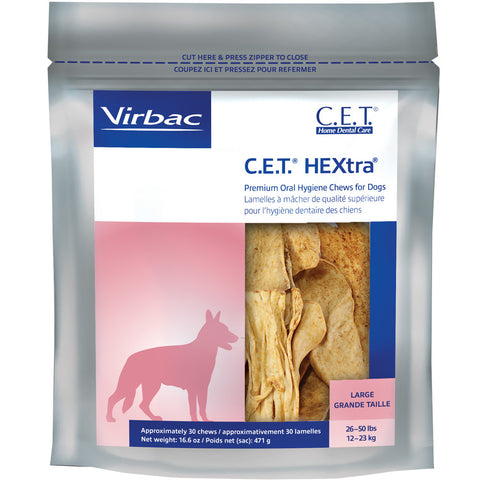 C.E.T. Chews Hextra - FOUR SIZES STARTING AT - Countryside Pet Supply - 3