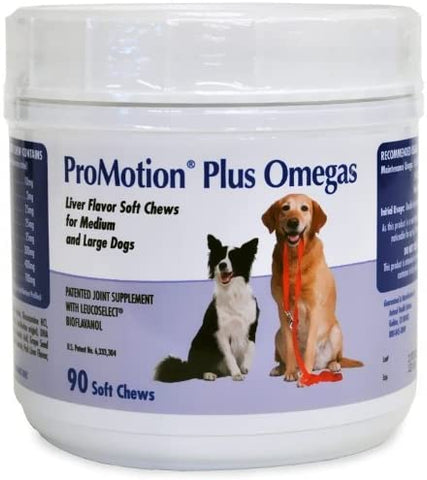 ProMotion Plus Omegas Soft Chews for Medium and Large Dogs - CountrysidePet.com