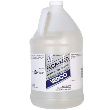 Vedco Feca-Med Ready to Use Fecal Analysis Solution Gallon