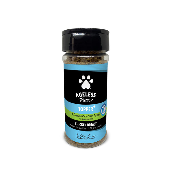 Ageless Paws Chicken Breast Topper+ Probiotic Food Topper for Dogs & Cats - CountrysidePet.com