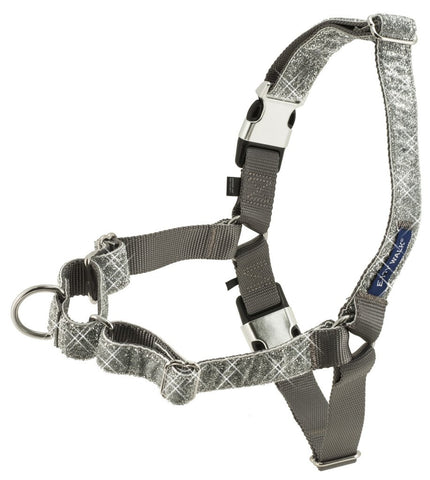 PetSafe Bling Easy Walk Harness Silver
