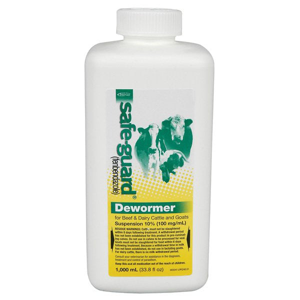 Safe-Guard Liquid Wormer 1000 ml - Countryside Pet Supply - 1