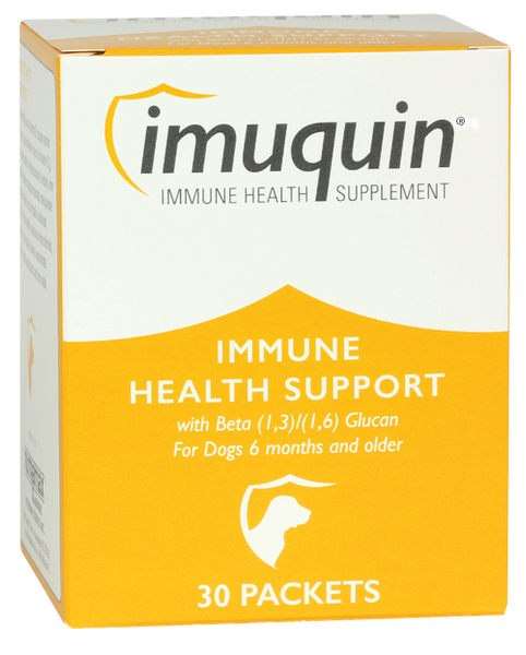 Imuquin Immune Health Supplement for Dogs and Puppies - 30 Packets
