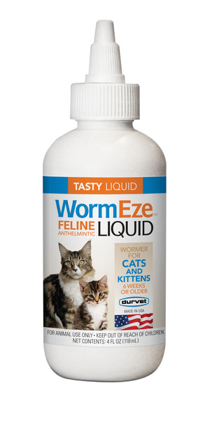 WormEze Liquid Wormer for Cats and Kittens