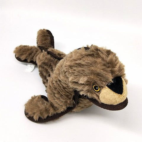 Ruffian Seal Dog Toy with Hidden Ball by SteelDog - CountrysidePet.com