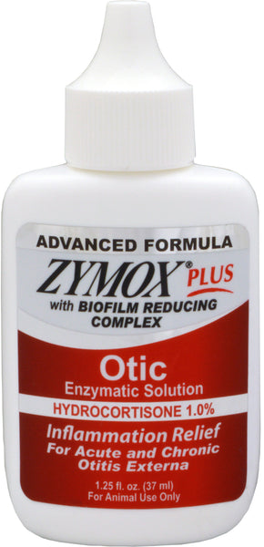 Zymox Plus Otic HC Advanced Formula (1.25 ounce)