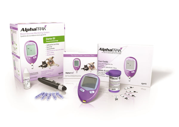 AlphaTRAK 2 Blood Glucose Meter Starter Kit - Now Includes 50 Test Strips