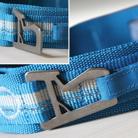 Ready, Set, GO Collar Coastal Blue/Grey by Kurgo