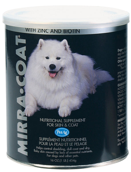 Mirra-Coat Nutritional Skin & Coat Supplement for Dogs