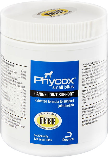 Phycox Small Bites - 120 Soft Chews