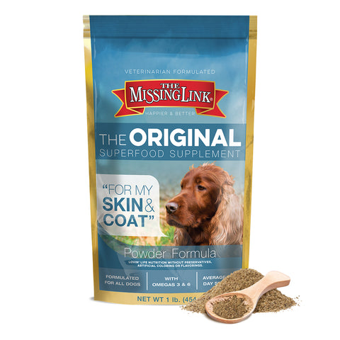 The Missing Link Skin & Coat Supplement for Dogs 1lb. - CountrysidePet.com