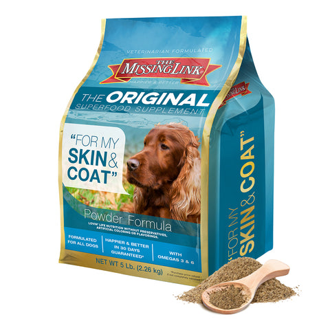 The Missing Link Skin & Coat Supplement for Dogs 5lb. - CountrysidePet.com