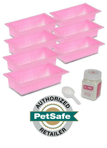 PetSafe Pee Pods with Wee Sponge for Pet Loo - 7 Pods per Pack