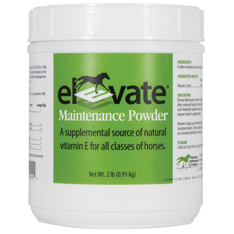 Elevate Vitamin E Maintenance Powder for Horses - 2 lbs. - Countryside Pet Supply - 1