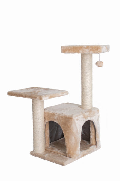 32-Inch Classic Cat Tree - Beige