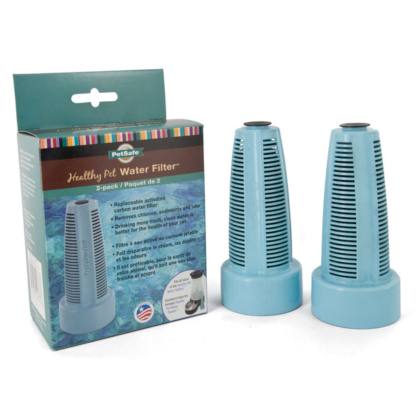 PetSafe Healthy Pet Water Station Carbon Filters 2 Pack