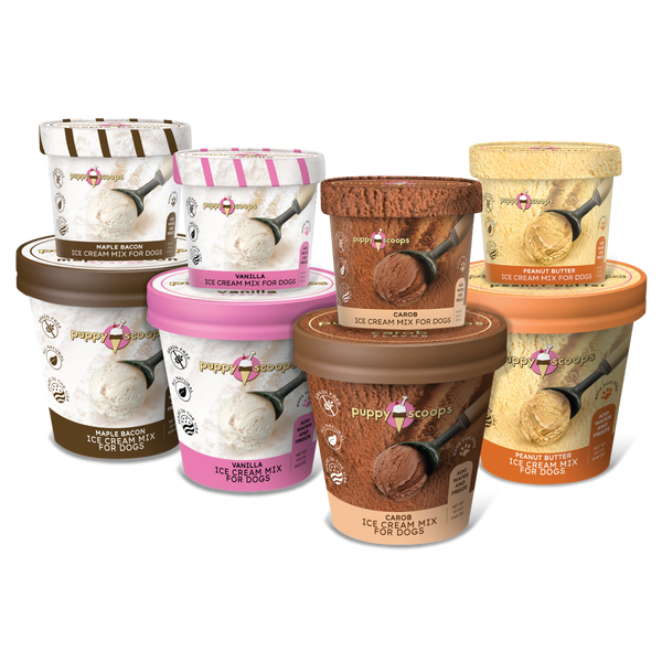 Puppy Scoops Ice Cream for Dogs at Countrysidepet.com