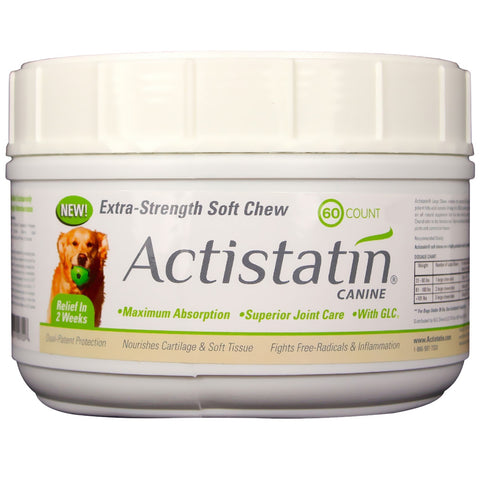 Actistatin Canine Extra Strength - 60 Soft Chews