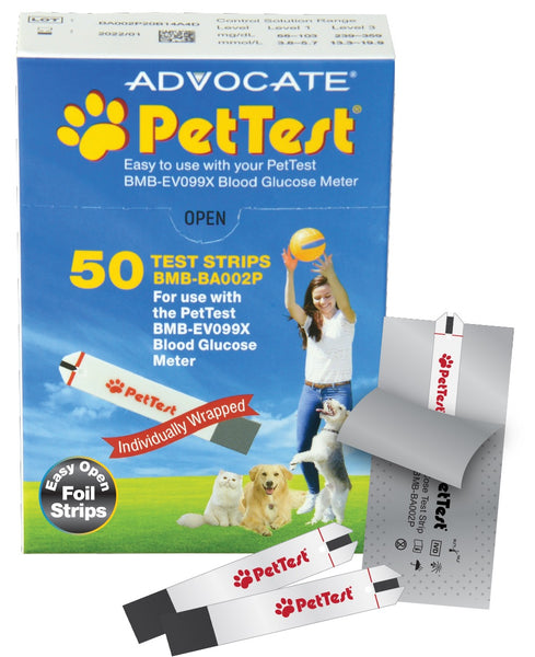 PetTest Individually Foil-Wrapped Test Strips by Advocate