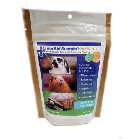 EmerAid Sustain Recovery Food for Herbivores - Countryside Pet Supply