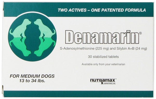 Denamarin for Medium Dogs 13-34 lbs- 30 Tablets - Countryside Pet Supply - 1