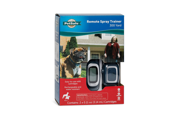 PetSafe 300-Yard Rechargeable Remote Spray Trainer - PDT00-16395