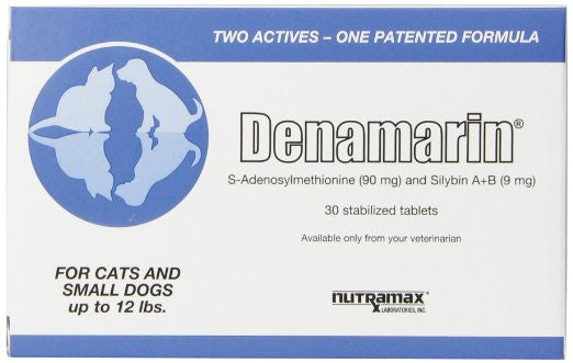 Denamarin for Small Dogs and Cats- 30 Tablets