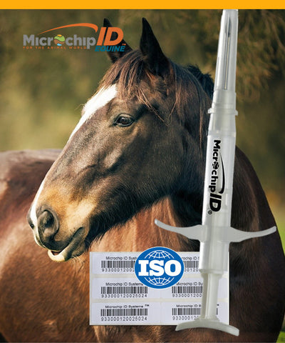 Pro ID Equine Microchip - 134kHz ISO Single Microchip - Countryside Pet Supply - 1