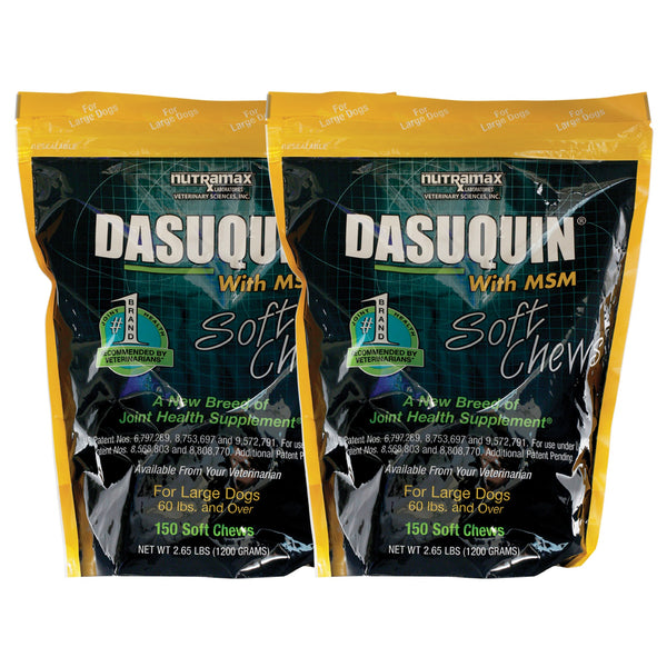 Dasuquin Soft Chews with MSM for Large Dogs - 2-PACK (300 Chews)