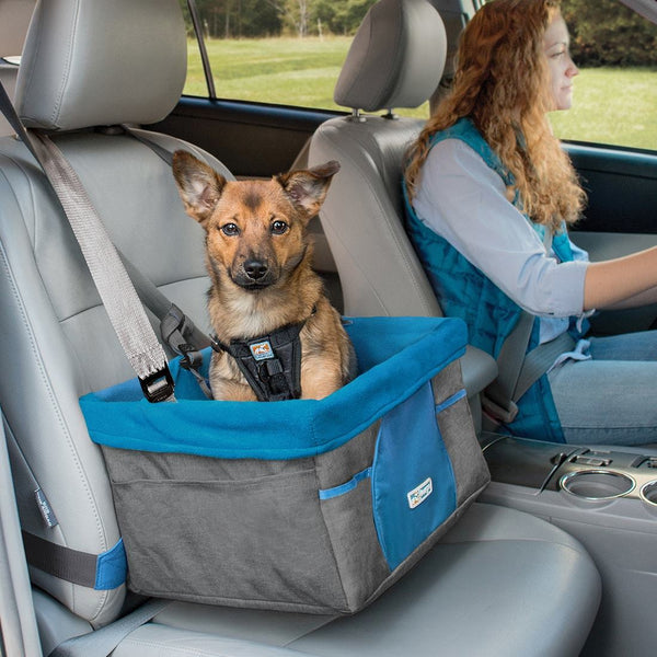 Kurgo Heather Dog Booster Seat at Countrysidepet.com