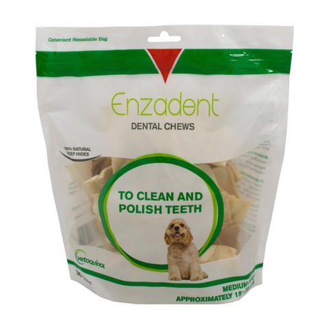 Enzadent Dental Chews for Medium Dogs - Countryside Pet Supply