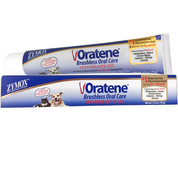 Zymox Oratene Brushless Oral Care Toothpaste - 2.5 oz - Countryside Pet Supply - 1