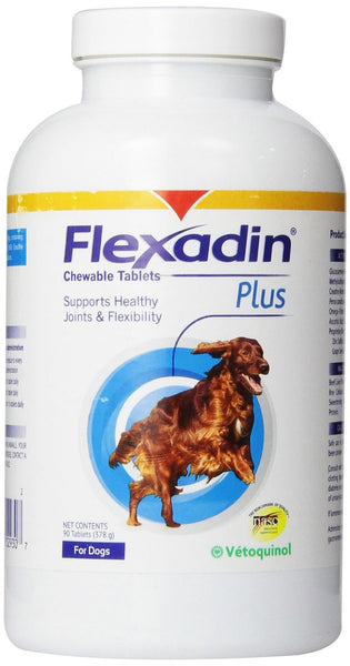 Flexadin Plus Chewable Tablets for Dogs - 90 Tablets