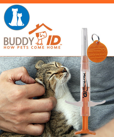 Pro ID Buddy ID Mini Microchip - 134kHz 25 Microchips - $6.75 each - Countryside Pet Supply - 1