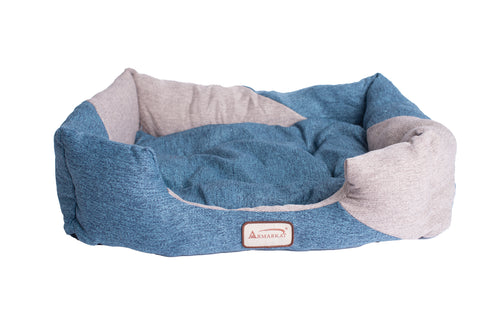 Heavy Canvas Rectangle Cat Bed by Armarkat