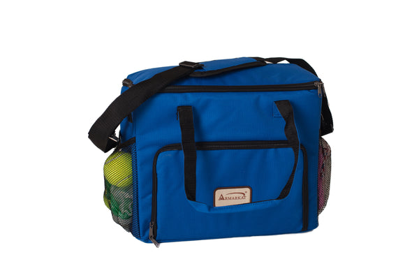 Pet Travel Bag with Lined Food Carriers - CountrysidePet.com