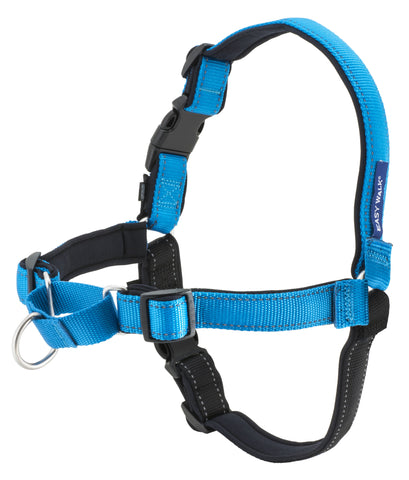 PetSafe Deluxe Easy Walk Reflective Harness - Ocean/Black