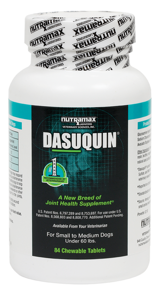 Dasuquin Chewable Tablets for Small to Medium Dogs - 84 count