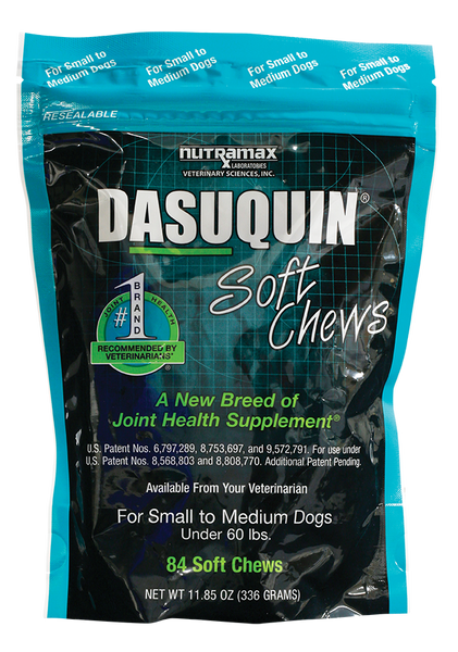 Dasuquin Soft Chews for Small to Medium Dogs - 84 count