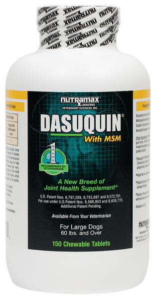 Dasuquin MSM for Large Dogs (150 Tabs)
