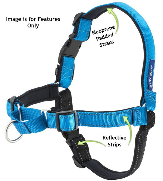 PetSafe Deluxe Easy Walk Reflective Harness Small Steel/Black - Countryside Pet Supply - 3