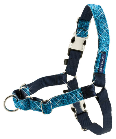 PetSafe Bling Easy Walk Harness - Large Blue Bling