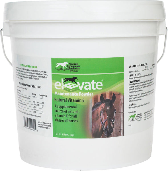 Elevate Vitamin E Maintenance Powder for Horses - 10lb.