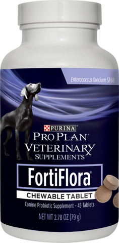 FortiFlora Chewable Tablets for dogs at Countrysidepet.com