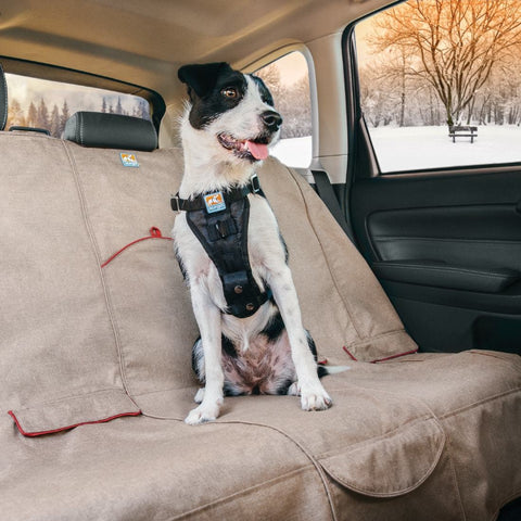 Kurgo Heather Dog Car Bench Seat Cover at Countrysidepet.com