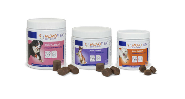 Virbac MovoFlex Joint Soft Chews for Large Dogs Over 80 lbs. - 60 Chews