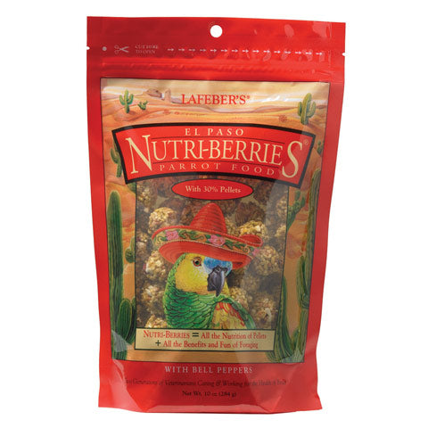 Labeber El Paso Nutri-Berries Parrot at Countrysidepet.com
