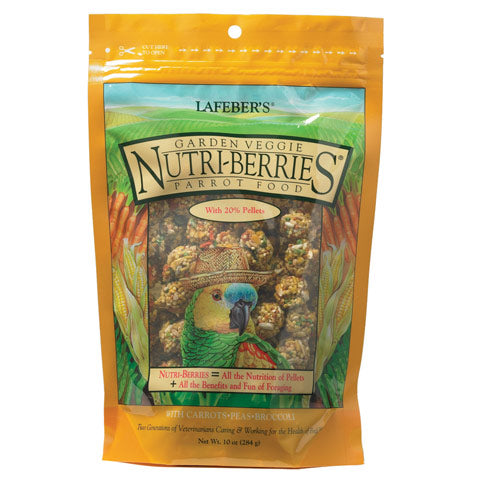 Lafeber Garden Veggie Nutri-Berries Parrot at Countrysidepet.com